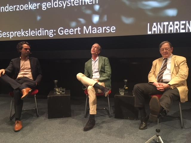 Interessant debat samen met Nout Wellink